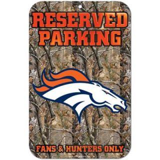 Denver Broncos Realtree Camo Fans & Hunters Only Parking Sign