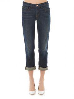 Logan low rise boyfriend jeans  J Brand