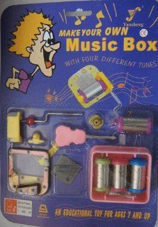 Make Your Own Music Box Four Different Tunes Toys & Games