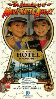The Adventures of Mary Kate & Ashley   The Case of the Hotel Who Done It [VHS]: Ashley Olsen, Mary Kate Olsen: Movies & TV