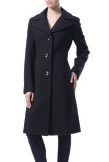 BGSD Women's Cara' Long Wool Blend Walking Coat at  Women�s Clothing store