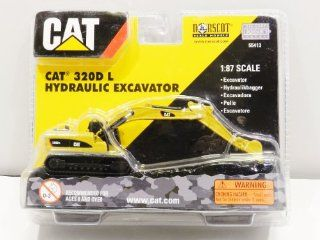 Norscot CAT 320D L hydraulic excavator one eighty seven Northcott (japan import) Toys & Games