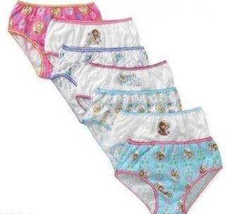 Disney Frozen Girls' Underwear   Anna, Elsa, Olaf   7 Pack   Size 6 Clothing