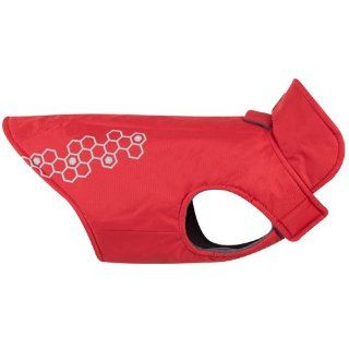 RC Pet Products Venture Outerwear Dog Rain Coat, Size 10, Crimson  Pet Raincoats