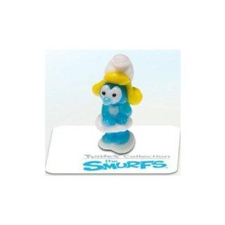 Tynies The Smurfs Smurfs   Smurfette Glass Figure: Toys & Games