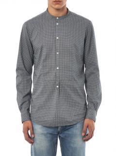 Kos grandad collar spot print shirt  Massimo Alba  MATCHESFA