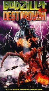 Godzilla Vs. Destroyah [VHS]: Takur� Tatsumi, Y�ko Ishino, Yasufumi Hayashi, Megumi Odaka, Sayaka Osawa, Sabur� Shinoda, Akira Nakao, Masahiro Takashima, Momoko K�chi, Shigeru K�yama, Ronald Hoerr, K�ichi Ueda, Masahiro Kishimoto, Yoshinori Sekiguchi, Taka