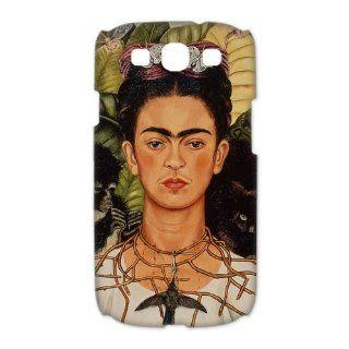 Self portrait, Frida Kahlo Samsung Galaxy S3 I9300/I9308/I939 Case Frida Kahlo Galaxy S3 Hard Cover 3D: Electronics