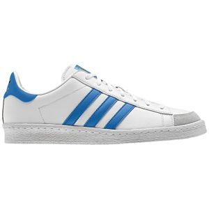 adidas Originals Jabbar Low   Mens   Basketball   Shoes   White/Air Force Blue/White