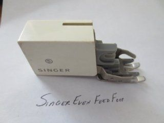 Singer Smooth and Even Feed Sewing Machine Foot for Slant Needle Machines    as shown