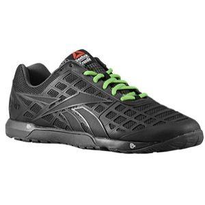 Reebok CrossFit Nano 3.0   Mens   Training   Shoes   Black/Gravel/Green Smash