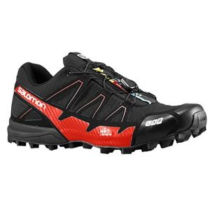 Salomon S Lab  Fellcross 2   Mens   Running   Shoes   Black/Racing Red/Black