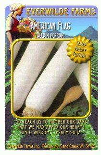 Everwilde Farms   1 Lb American Flag Lettuce Seeds   Bulk Seed Packet : Vegetable Plants : Patio, Lawn & Garden