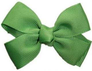Posies Accessories Bitty Grosgrain Bud Green Hair Bow: Apparel Accessories: Clothing