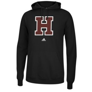 adidas College Versa Logo Hoodie   Mens   Basketball   Clothing   Harvard Crimson   Black