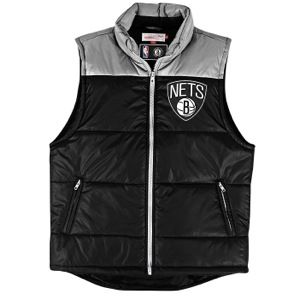 Mitchell & Ness NBA Winning Team Vest   Mens   Basketball   Clothing   Brooklyn Nets   Black/White