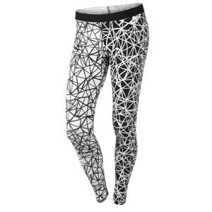Nike Leg A See Printed Legging   Womens   Casual   Clothing   Black/White