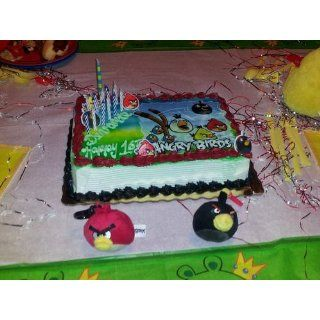 Angry Birds Edible Image Cake Topper: Toys & Games