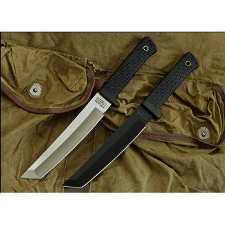 Cold Steel Recon Tanto Black Kraton Handle : Tactical Knives : Sports & Outdoors