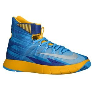 Nike Zoom Hyper Rev   Mens   Basketball   Shoes   Vivid Blue/Pure Platinum/University Gold