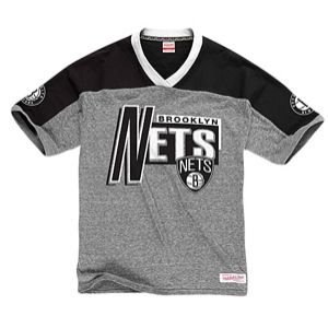 Mitchell & Ness NBA Vintage T Shirt   Mens   Basketball   Clothing   Brooklyn Nets   Grey Heather