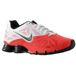 Nike Shox Turbo 14   Mens   Running   Shoes   Laser Crimson/White/Black/Black Pine