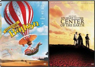 Five Weeks In A Balloon/Journey To The Center Of The Earth: James Mason, Pat Boone, Arlene Dahl, Diane Baker, Thayer David, Peter Ronson, Robert Adler, Alan Napier, Mary Brady, Alan Caillou, Gertrude the Duck, John Epper, Leo Tover, Henry Levin, Jack W. Ho