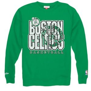 Mitchell & Ness NBA Technical Foul Crew   Mens   Basketball   Clothing   Boston Celtics   Green