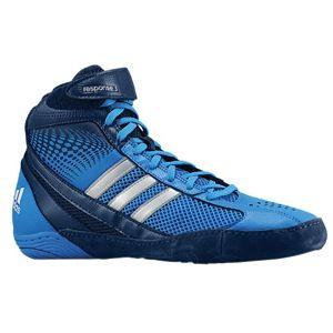 adidas Response 3.1   Mens   Wrestling   Shoes   Pride Blue/Collegiate Navy/Metallic Silver