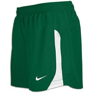 Nike Pasadena II Game Shorts   Girls Grade School   Soccer   Clothing   Dark Green/White/White