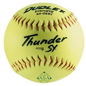 Dudley ASA 12 Thunder Hycon Slowpitch Softball   Softball   Sport Equipment