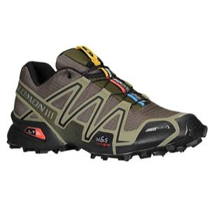 Salomon Speedcross 3 CS   Mens   Running   Shoes   Bayou Green/Iguana Green/Black