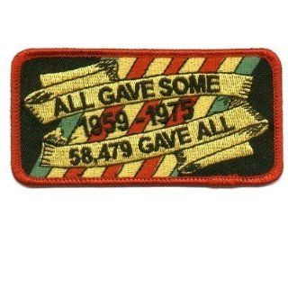 ALL GAVE SOME 58479 GAVE ALL VET MILITARY Biker Patch!!: Everything Else