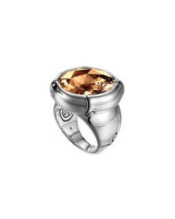 Batu Bamboo Silver Cognac Ring   John Hardy   Cognac (7)