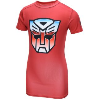 UNDER ARMOUR Boys Alter Ego Transformers Autobots Fitted Baselayer Top   Size: