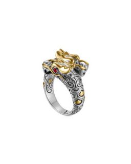 Batu Naga Gold/Silver Dragon Ring   John Hardy   Silver/Gold (7)