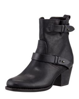 Harper Leather Motorcycle Boot   Rag & Bone   Black (38.0B/8.0B)