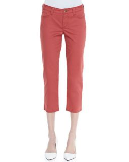 Womens Chloe Cropped Newport Twill Pants   Christopher Blue   Cers blue (14)