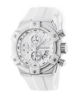 43mm, Federica Stainless Steel, White   Brera   White