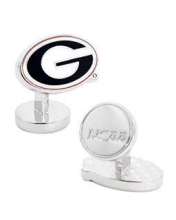 Mens Georgia Bulldogs Gameday Cuff Links   Cufflinks   Black (ONE SIZE)