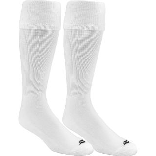 SOF SOLE Mens All Sport Over The Calf Team Socks   2 Pack   Size: L, White