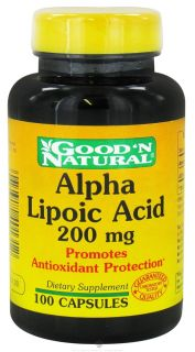 Good N Natural   Alpha Lipoic Acid 200 mg.   100 Capsules
