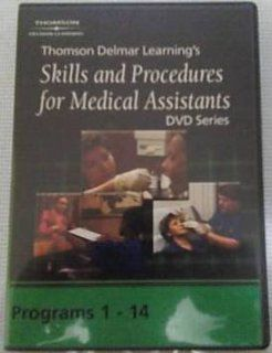 Thomson Delmar Learning's Skills and Procedures for Medical Assistants DVD Series ~ Programs 1 14 Movies & TV