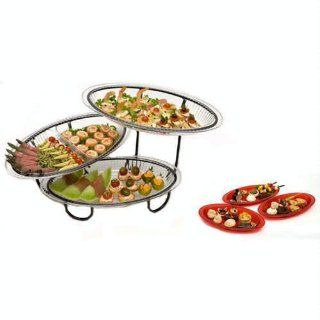 CreativeWare 3 Tier Unbreakable Buffet Server: Kitchen & Dining