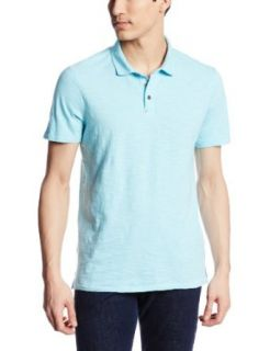 Calvin Klein Jeans Men's Short Sleeve Slub Polo Shirt at  Men�s Clothing store: