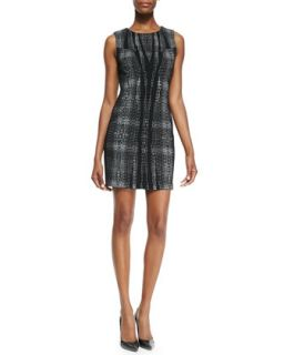 Womens Mackenzie Sleeveless Body Conscious Sheath Dress   Diane von