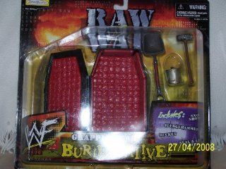 "WWF GRAPPLE GEAR ""BURIED ALIVE"": Toys & Games"