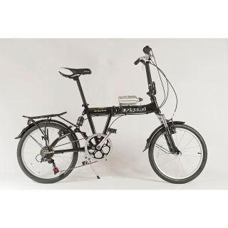 Origami Mantis Lightweight Aluminum Folding Bicycle with Full Suspension For