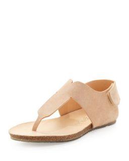 Julia T Strap Thong Sandal, Nude   Pedro Garcia   Nude (9 1/2B)