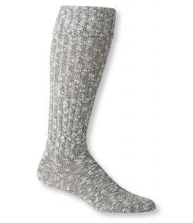 Womens Cotton Ragg Knee High Boot Socks